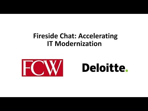 How to Accelerate IT Modernization