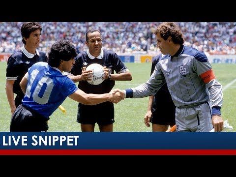 Peter Shilton Recalls 'Hand Of God' Goal | Leicester City
