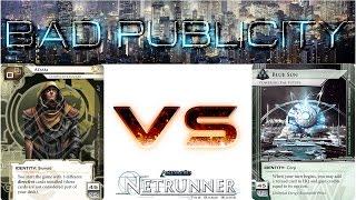 Let's Play Netrunner - Decklist of the Week - Adam vs Blue Sun