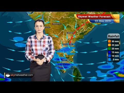 Weather Forecast May 9: Dry weather in Delhi, Andhra and Rayalaseema to  receive pre-Monsoon showers