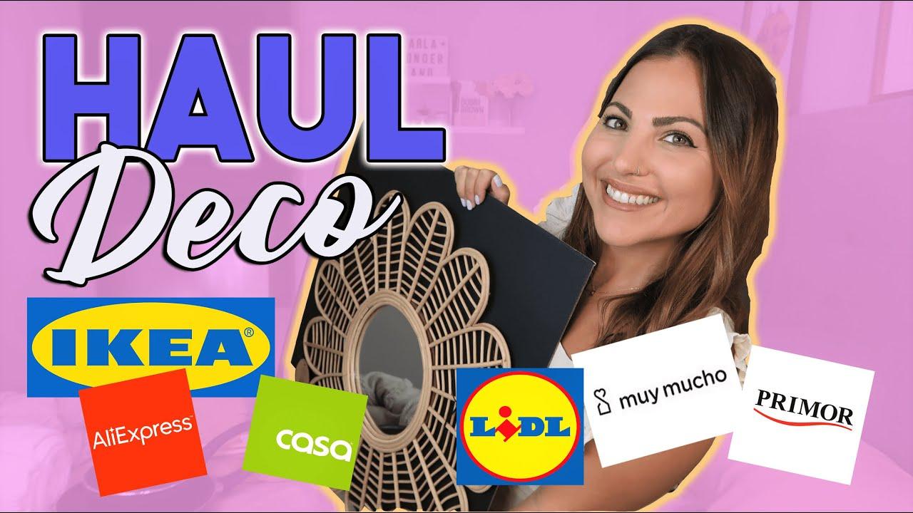 SUPER HAUL HOGAR!🏠 IKEA, ALIEXPRESS, MUY MUCHO, LIDL...+ Mini haul PRIMOR😻! | Carla Wonderland