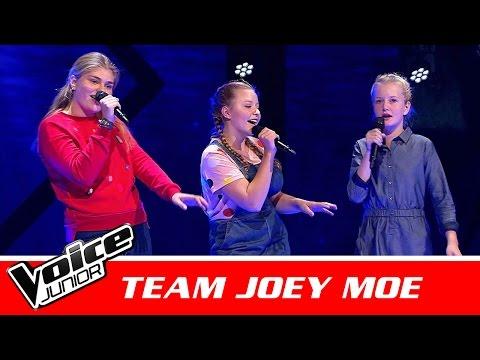 """Anneli, Ellen & Sara (Team Joey Moe)   """"The Ocean"""" af Mike Perry   Battle   Voice Junior Danmark"""