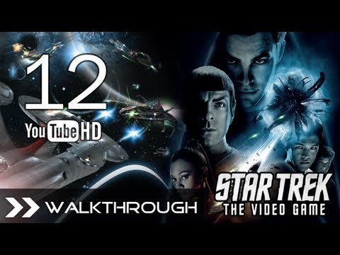 Star Trek The Video Game - Walkthrough Part 12 (The Pursuit - Gorn Lieutenant Boss) HD 1080p