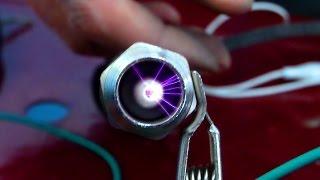 Ozel buji ile atesleme bobinin testi -special spark plug with ignition coil test