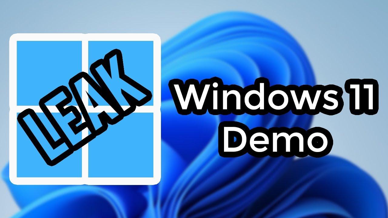 Download Windows 11 Leaked - Let's Explore It! (Build 21996.1 Overview & Demo)