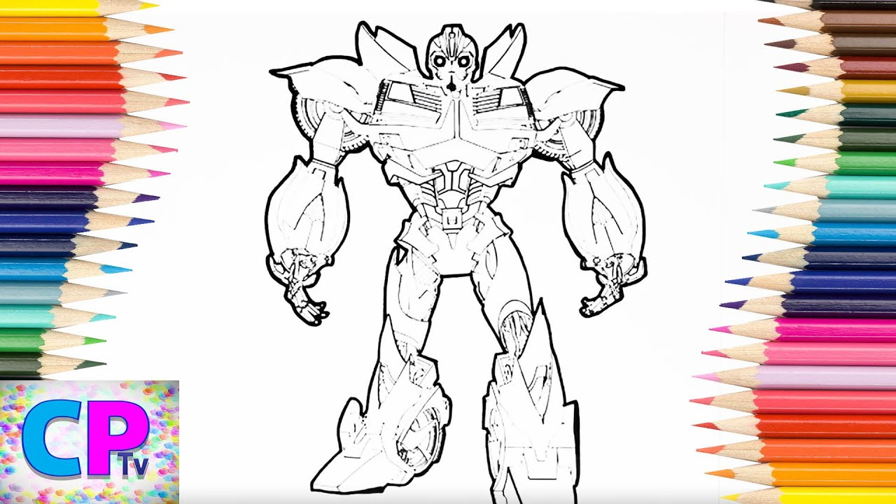 Transformers coloring pages for kids 3transformers bumblebeetransformers coloring pages kids tv