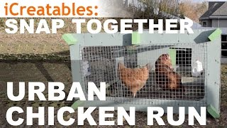 Urban Chicken Run - How To Build