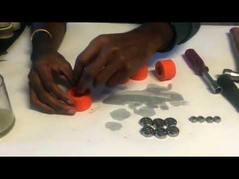 #IMSN How to clean roller skate bearings