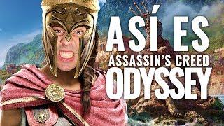 Así es Assassin's Creed Odyssey   Lleno de BUGS Y ERRORES   Los MEJORES MOMENTOS