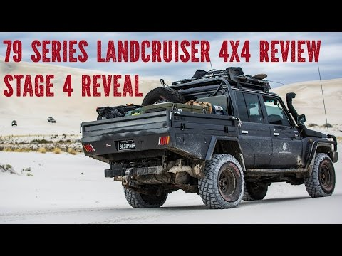 79 series Landcruiser 4x4 Review, stage 4