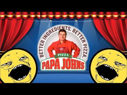 I wanna talk about Papa John