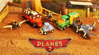 Disney PLANES 2 Fire & Rescue Die Cast 6-Pack Dustys Homecoming