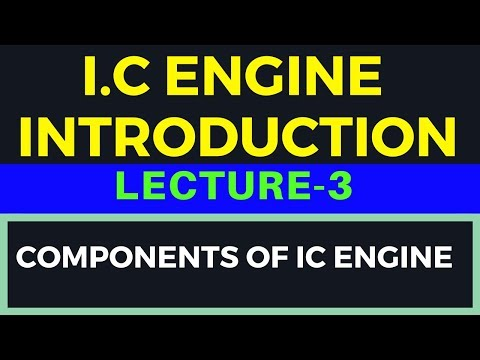 IC Engine Introduction Part-3(Components of IC Engine)