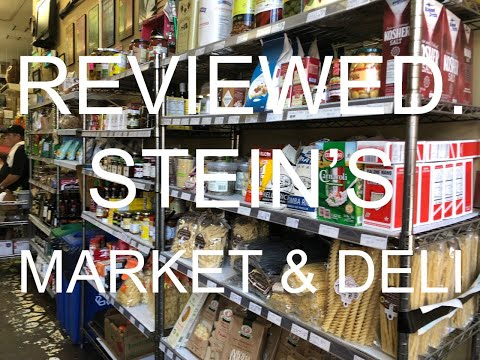 Reviewed.   S1 EP9 - Steins Deli, New Orleans