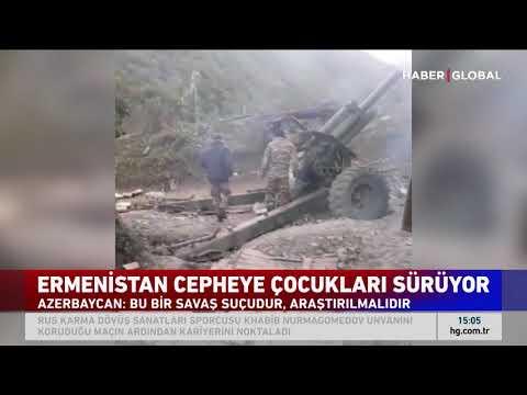 Ermenistan Cepheye Çocukları Sürüyor