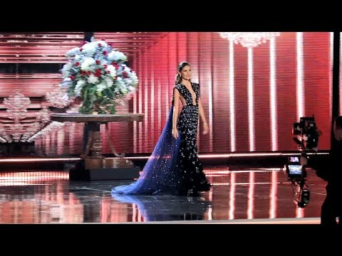 Miss Universe 2017 - Evening Gown Competition | Audience View