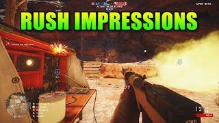 Battlefield 1 - Rush First Impressions | Sinai Desert Gameplay