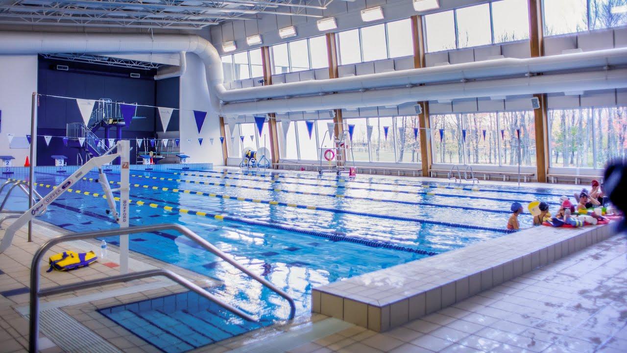 Survol des installations de la piscine douard dubord for Piscine pour handicape moteur