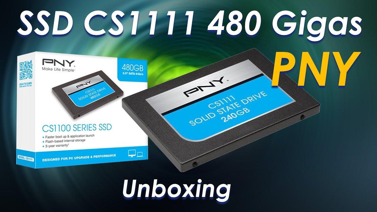 Ssd De 480gb Para Pc Pny Cs1111 Unboxing Youtube