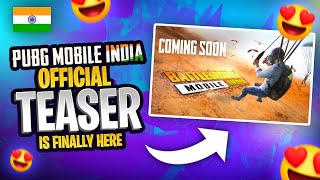 Battlegrounds Mobile India 🇮🇳 official Teaser is here 🔥