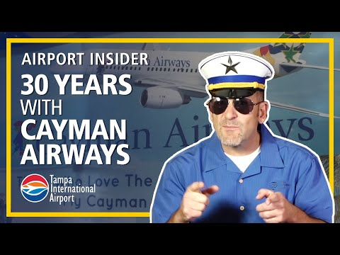 Tampa International Airport celebrates 30 years with Cayman Airways