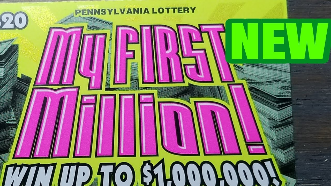 New $20 My First Million Pa lottery scratch tickets