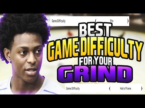 NBA 2K20 Best Game Difficulty To Grind MyCareer On