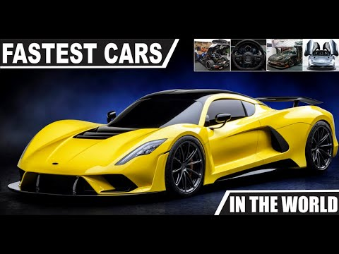 FASTEST CARS IN THE WORLD 2020