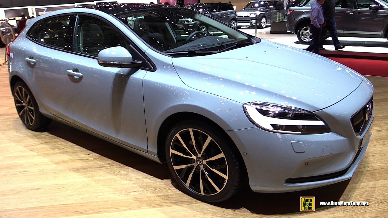 2017 volvo v40 - exterior and interior walkaround - debut at 2016