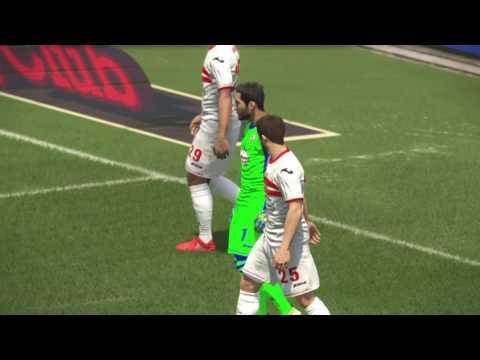 PS4 PES 2017 Gameplay CAPS United vs Zamalek SC HD
