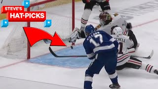 NHL Plays Of The Week: How Did He Save That!? | Steve's Hat-Picks