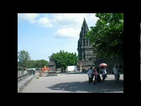 Compound at Prambanan Temple, Indonesia