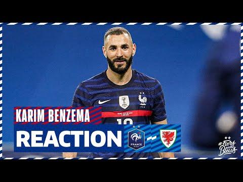 La réaction de Karim Benzema, Equipe de France I FFF 2021