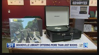 Libraries go 'beyond books' with vinyl, kayaks more