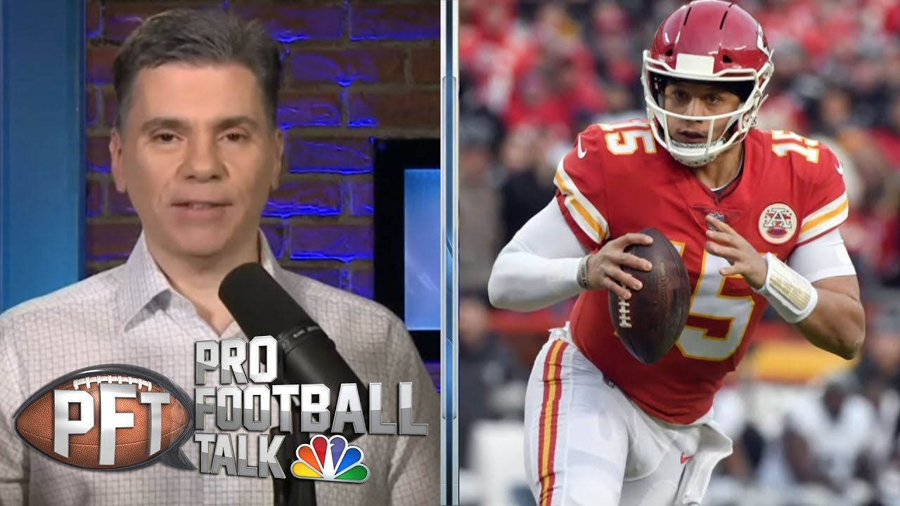 Can Patrick Mahomes step up for AFC title vs. New England Patriots? | Pro Football Talk | NBC Sports