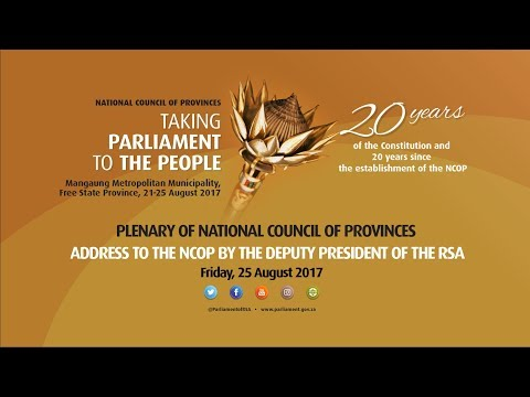 national cpuncil of provinces and the Ipu parline database on national parliaments: south africa (national council of provinces), general information.