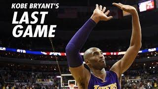 Kobe Bryant FINAL GAME Twitter Reactions NBA players & Celebrities