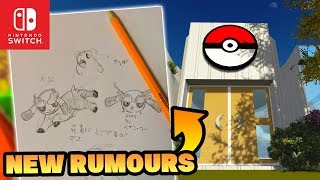 Pokemon Switch 2019 (Generation 8) NEW Pokemon Rumour Drawings  & DELETED Rumour Surfaces!?