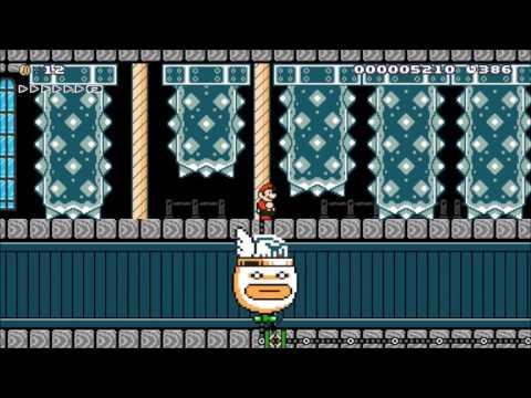 Necropolis District: Beating Super Mario Maker's Super Expert Levels!