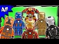 Lego IRON MAN Complete MARK ARMOR SUITS Minifigure Collection