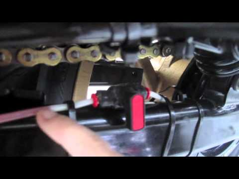 DIY Oiler For Motorcycle Chain - Setup