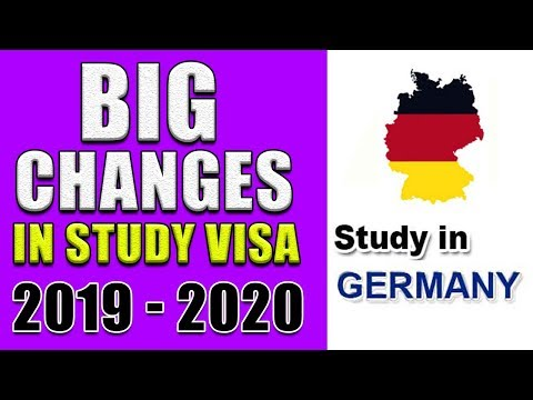 Repeat BIG CHANGE IN GERMANY STUDENT VISA REQUIREMENTS 2020