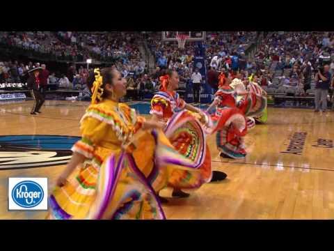 Dallas Mavericks Half-time show- Alma y Corazon Tejano Ballet Folklorico