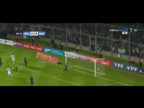 Gonzalo Higuain Goal - Argentina vs Honduras 1-0 [28.05.2016] Friendly