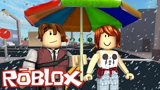 ROBLOX-ESCAPE FROM the FLOODED CITY WITH CRIS MINEGIRL