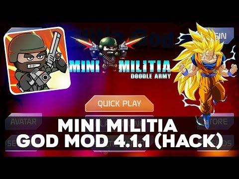 download mini militia god mod apk 2019