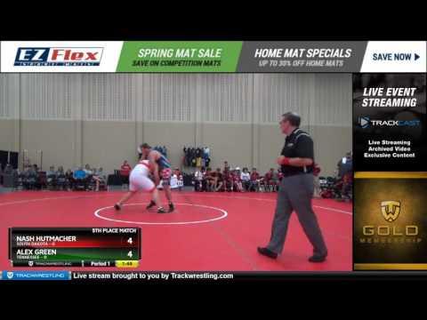 285 Nash Hutmacher South Dakota vs Alex Green Tennessee 8450188104