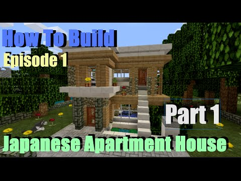 Minecraft Modern Japanese House YouTube