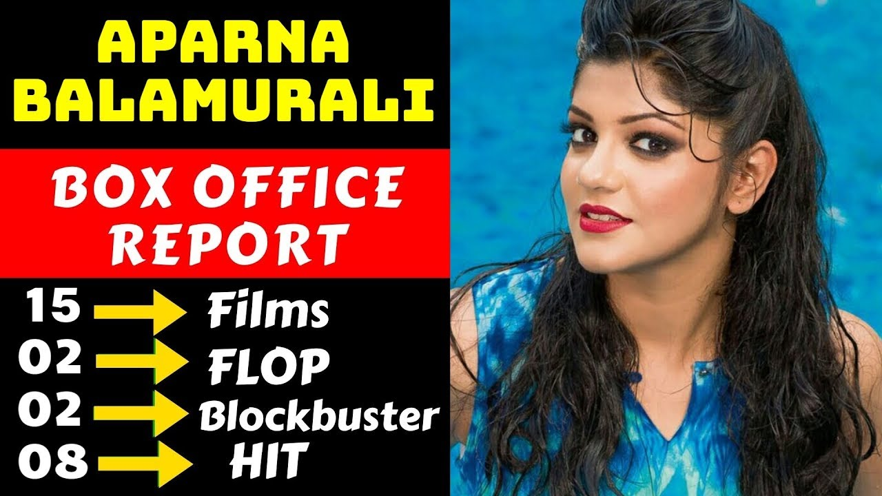 Aparna Balamurali Hit And Flop All Movies List With Box Office Collection Analysis Youtube