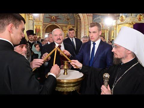 Лукашенко: Если будут проблемы – зовите! Я здесь рядом живу! // Пасха – 2021